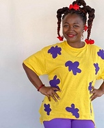 Rugrats Susie Carmichael Homemade Costume