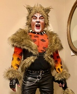 Rum Tum Tugger from Cats the Musical Homemade Costume