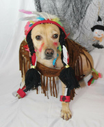 Rummy the Indian Squaw Homemade Costume
