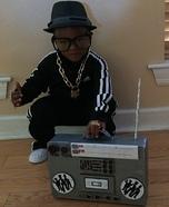 Run DMC Baby Homemade Costume