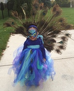 Runway Peacock Homemade Costume