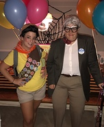 Russell and Carl from Disney's Up Homemade Costume
