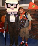 Russell and Carl from Up Homemade Costume