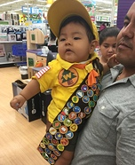 Movie Up Russell Baby Costume