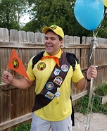 Russell from Up Disney Pixar Movie Homemade Costume
