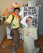 Russell & Dug Homemade Costume
