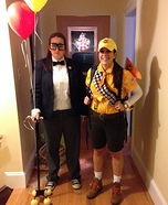 Russell & Mr. Fredrickson from UP Homemade Costume