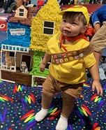 Russell, The Wilderness Explorer Homemade Costume