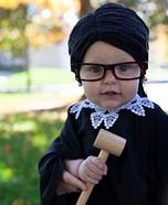 Ruth Baby Ginsburg Homemade Costume