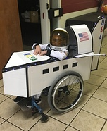 Rylee The Astronaut Homemade Costume