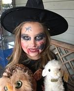 Sabrina Witch Homemade Costume
