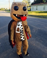 Sackboy Vampire Homemade Costume