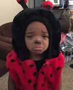 Sad Ladybug Baby Costume