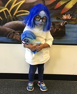 Sadness Homemade Costume