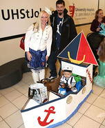 Sailor and his First Mate Homemade Costume