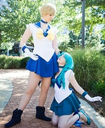 Sailor Uranus and Neptune Cosplay Costumes