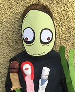 Salad Fingers Homemade Costume