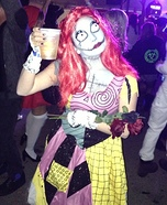 Creative DIY Costume Ideas for Women - The Nightmare Before Christmas Sally Costume