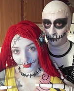 Sally and Jack Homemade Costume
