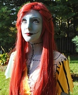 The Nightmare Before Christmas Homemade Sally Costume
