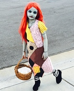 Sally from Nightmare Before Christmas Homemade Costume