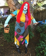 Sally from Nightmare Before Christmas Halloween Costume