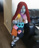 Sally Girl Homemade Costume