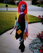 Sally Skellington Homemade Costume