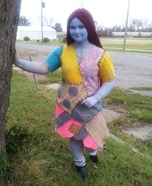 Sally the Ragdoll Homemade Costume