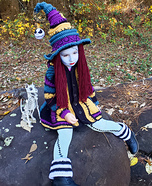 Sally Witch Homemade Costume