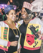 Salt-N-Pepa Homemade Costume