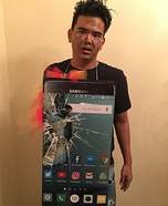 Exploding Samsung Galaxy Note 7 Costume