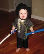 Samurai Baby Homemade Costume