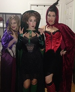 Sanderson Sisters from Hocus Pocus Homemade Costume
