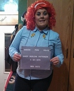 Sandy Bigelow Patterson Identity Thief Homemade Costume