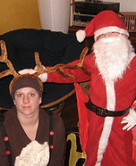 Santa Claus & Reindeer Costume