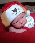 Santa Puppy Baby Costume