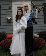 Sarah and Jareth The Goblin King Homemade Costume