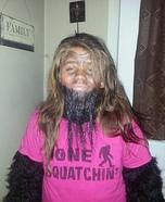 Sasquatch Homemade Costume