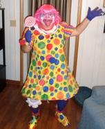Sassy Clown Homemade Costume