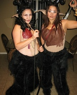 Satyr Homemade Costume