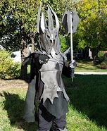 Sauron - The Dark Lord of Mordor Homemade Costume