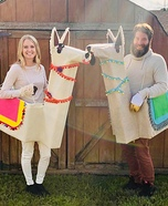 Save the drama for your llama Homemade Costume