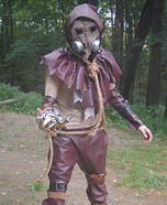 Homemade Arkham City Scarecrow Costume