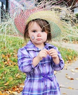 Cute Baby Scarecrow Costume DIY