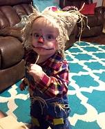 Scarecrow Baby Costume DIY