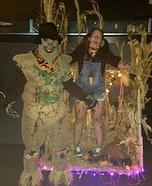 Scarecrow Kills Farmgirl Homemade Costume