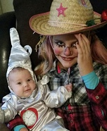 Scarecrow and Tin Man Costume
