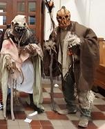 Scarecrow Bunch Homemade Costume