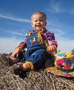 Scarecrow Cutie Homemade Costume